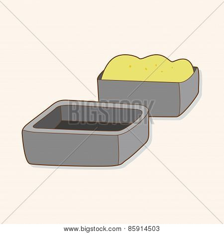 Kitchenware Baking Module Theme Elements Vector,eps