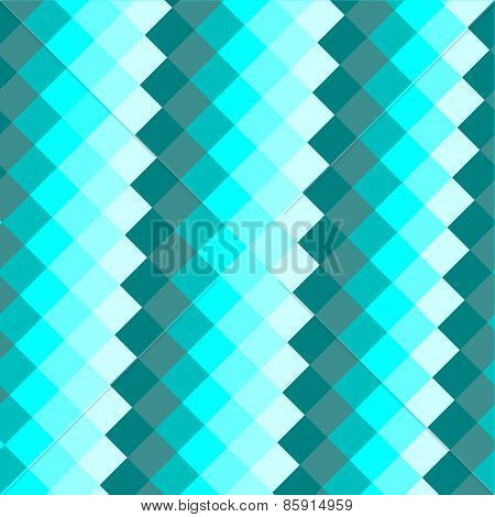 Abstract Blue Background Consisting Of Rectangular Shapes.