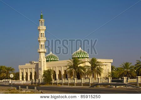 Mosque In The Evening Light