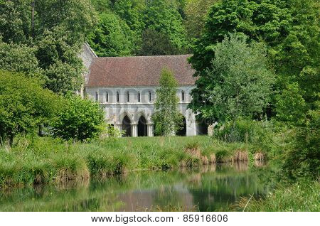The Abbey Of Fontaine Guerard In Radepont