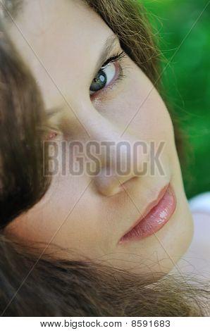Young Beautiful Woman - Portrait