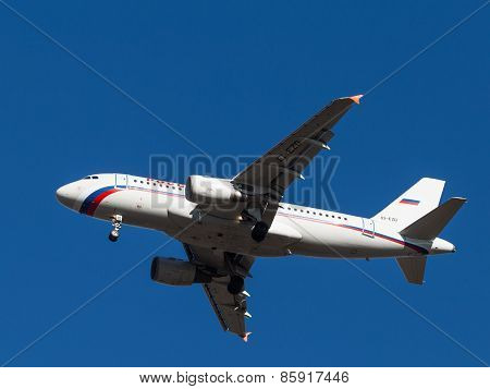 Airbus A-319, Russian Airlines