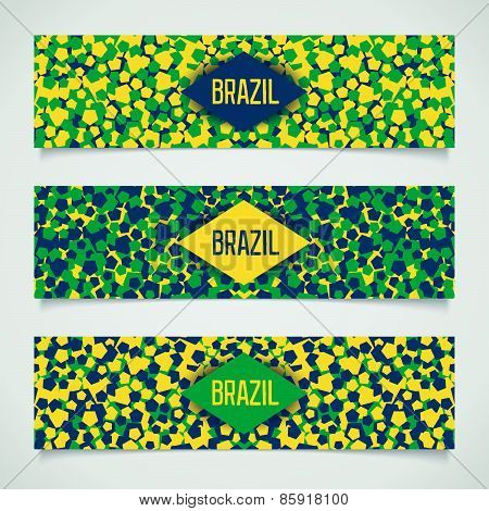 Brazil banners