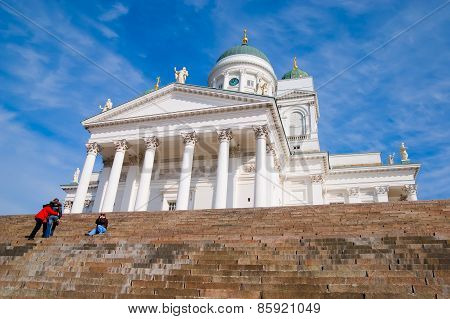Helsinki. Finland. Lutheran Cathedral