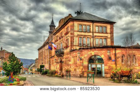Town Hall Of Wasselonne - Bas-rhin, Alsace, France