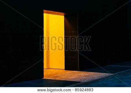 Bright Entrance