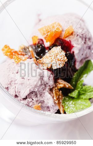 berry ice cream