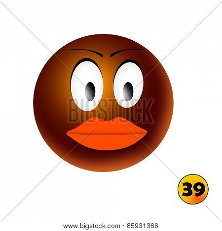 African smiley