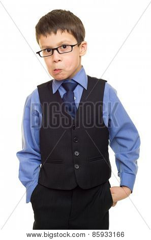 boy in suit
