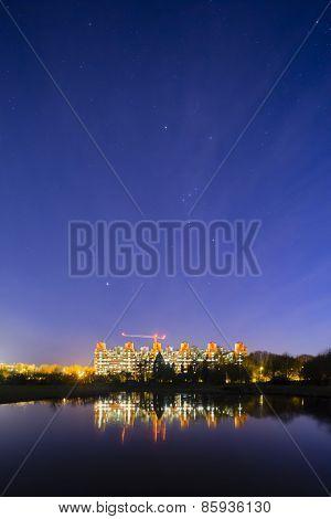 University Hospital Aachen Under Stars