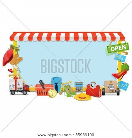 Vector Shopping Board
