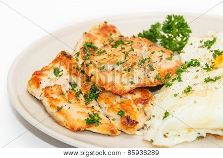 Diet Food, Clean Eating, Chicken Steak