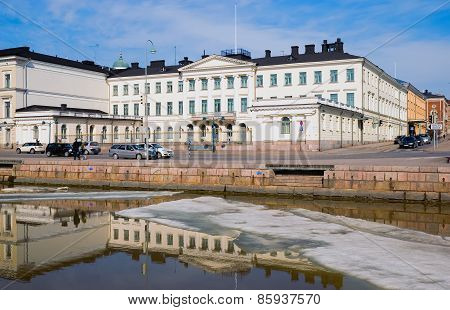 Helsinki. Finland. The Presidential Palace