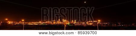 Chinese Manzhouli Night(panoramagram)