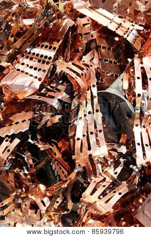 Recycling of copper and copper alloys