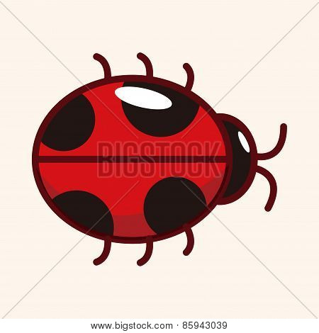 Bug Cartoon Elements Vector,eps