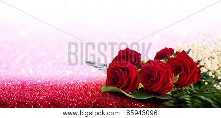 greeting card for mother's day and valentine's day and wedding