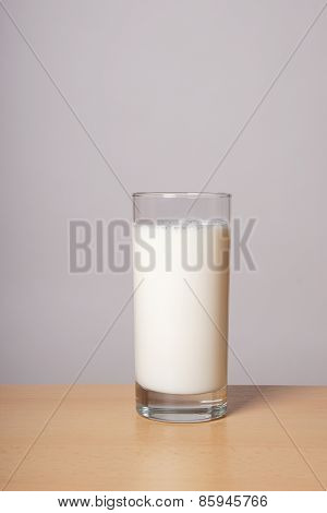 glass milk
