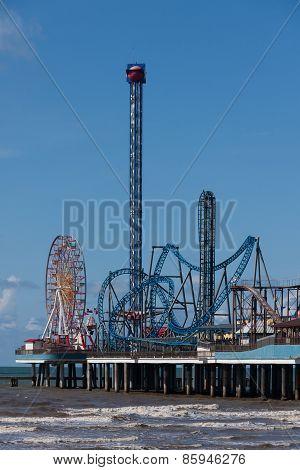 Amusement park dockside