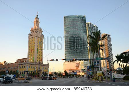 Freedom Tower in Miami, Florida