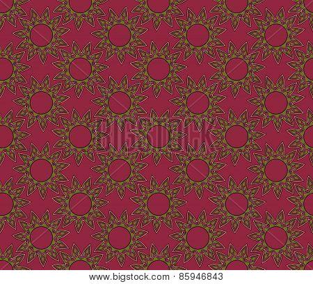 eleven sided mandala pattern