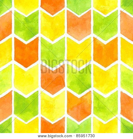 Watercolor arrows pattern