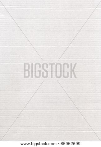 White Cardboard Horizontal