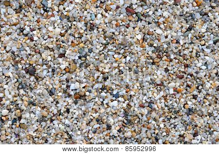 Large Crystals Of Clean River Sand