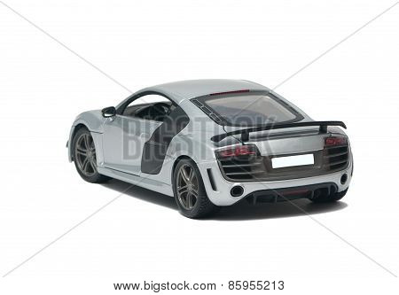 Gray Sports Car Audi R8