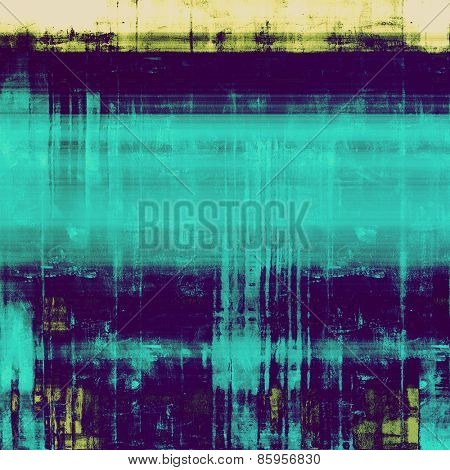 Antique grunge background with space for text or image. With different color patterns: yellow (beige); blue; cyan; purple (violet)