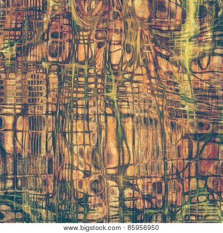 Ancient grunge background texture. With different color patterns: yellow (beige); brown; green