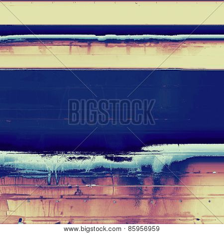 Grunge texture or background with space for text. With different color patterns: yellow (beige); blue; purple (violet)