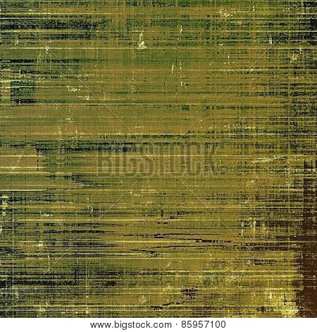 Abstract grunge background of old texture. With different color patterns: brown; gray; green