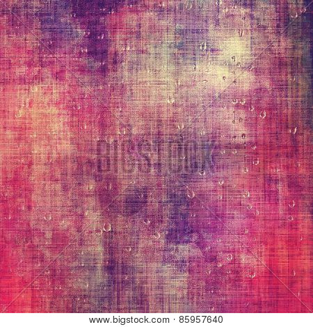 Designed grunge texture or retro background. With different color patterns: red (orange); purple (violet); pink
