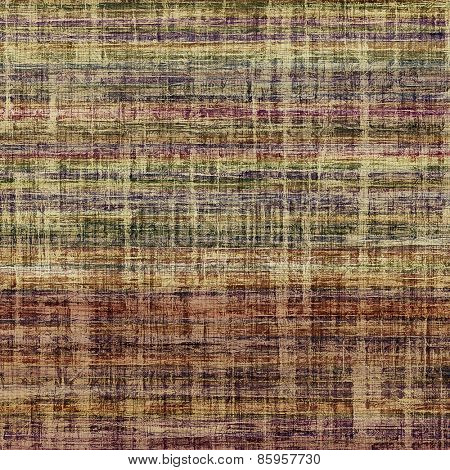 Designed grunge texture or retro background. With different color patterns: brown; gray; purple (violet); green