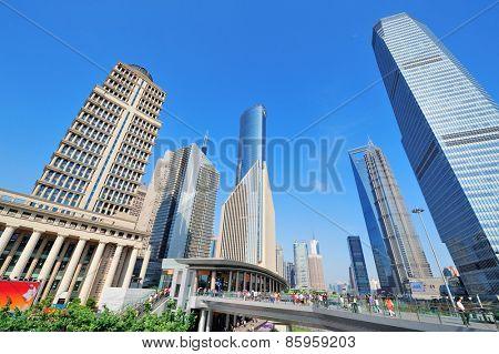 Shanghai urban architecture and skyline