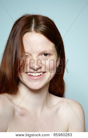 Red Haired Teenager