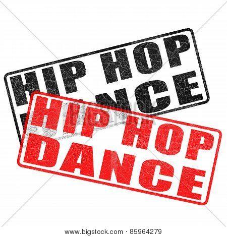 Hip Hop Dance Stamp