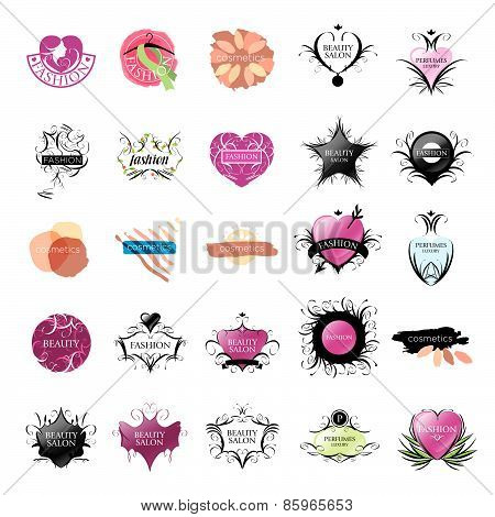 Biggest Collection Of Vector Icons Fashion And Beauty