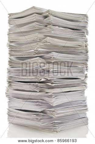 Tower of papers