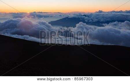 Maui Clouds At Summit