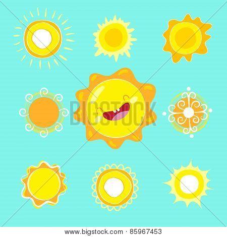 Vector Sun.