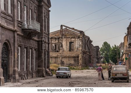 Gyumri, Heavily Damaged By Earthquake