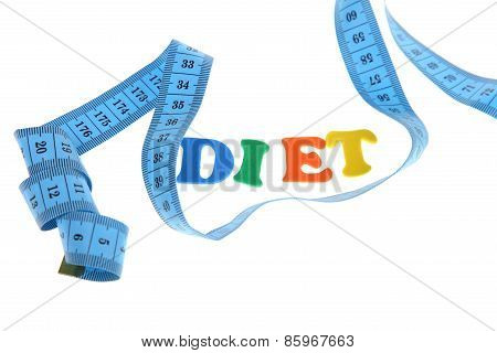 Word Diet And Measuring Tape