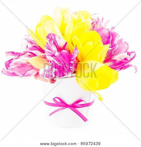 Bouquet from tulips