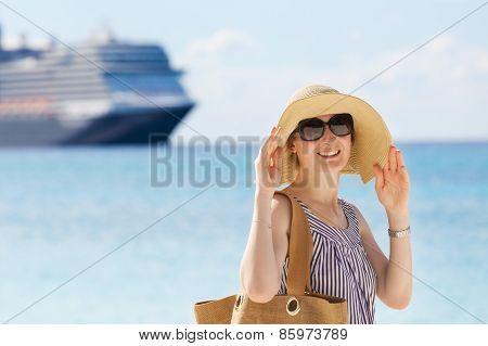Woman At Vacation