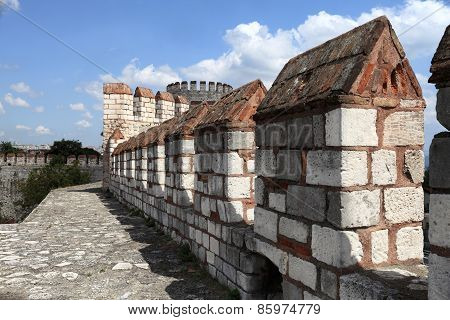 Details Wall Of Yedikule Fortress