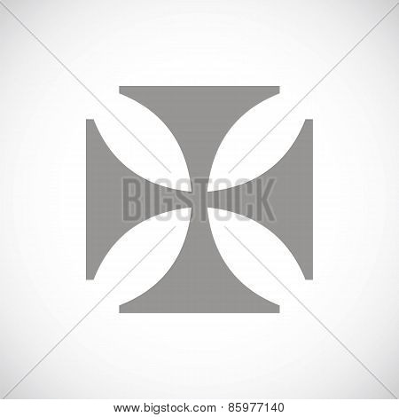 Crusaders black icon