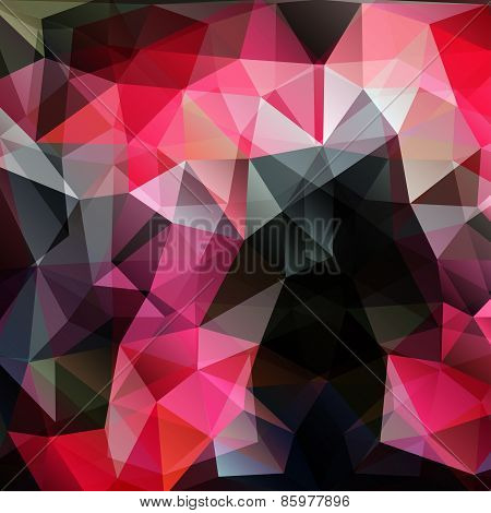 Modern abstract polygonal colorful background