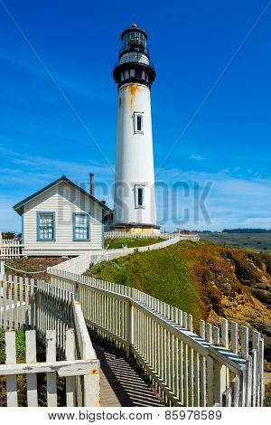Pigeon Point Lighthouse in California